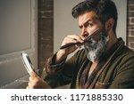 barber shop studios.sandalwood... | Shutterstock . vector #1171885330