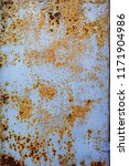 corroded white metal background....   Shutterstock . vector #1171904986