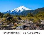 scenic view of villarrica... | Shutterstock . vector #1171913959