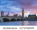 city of london  westminster ... | Shutterstock . vector #1171918549