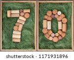Number 70 Seventy  Made Of Wine ...