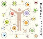 vector illustration of human...   Shutterstock .eps vector #1171932280