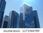 3d illustration blue... | Shutterstock . vector #1171960789