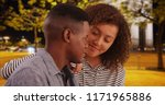 young and attractive couple... | Shutterstock . vector #1171965886