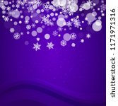 xmas sales with ultra violet...   Shutterstock .eps vector #1171971316