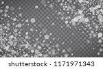 winter frame with white... | Shutterstock .eps vector #1171971343