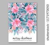 floral background for wedding... | Shutterstock .eps vector #1171973050