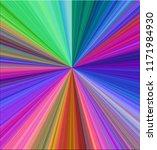 multi colored radial burst... | Shutterstock . vector #1171984930