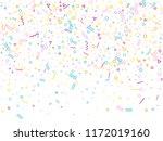 memphis style geometric... | Shutterstock .eps vector #1172019160