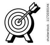 target icon image | Shutterstock .eps vector #1172030146