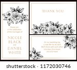 invitation greeting card with...   Shutterstock .eps vector #1172030746