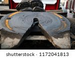 the fifth wheel or other parts... | Shutterstock . vector #1172041813