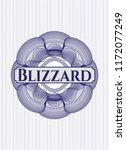 blue rosette. linear...   Shutterstock .eps vector #1172077249