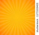 yellow sunburst background    Shutterstock . vector #1172103403