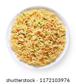 Plate Of Instant Noodles...