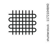 weaving vector icon | Shutterstock .eps vector #1172104840