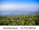 beautiful view at mountain peak ...   Shutterstock . vector #1172118916
