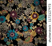 Abstract Floral Seamless...
