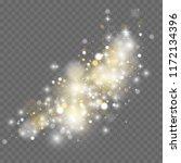 white sparks glitter special...   Shutterstock .eps vector #1172134396