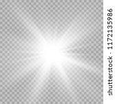 illustration of the light of a... | Shutterstock .eps vector #1172135986
