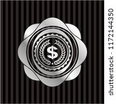 laurel wreath with money symbol ... | Shutterstock .eps vector #1172144350