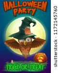 halloween party poster...