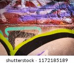 colorful coffee  plum and ebony ... | Shutterstock . vector #1172185189