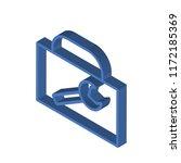 toolbox isometric left top view ... | Shutterstock .eps vector #1172185369
