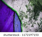 canvas with hand drawn abstract ... | Shutterstock . vector #1172197153