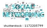 modern flat thin line design...   Shutterstock .eps vector #1172205799