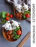 homemade japanese cuisine  ... | Shutterstock . vector #1172242069