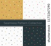 geometric triangle seamless... | Shutterstock .eps vector #1172267290