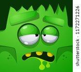 frankenstein characters.... | Shutterstock .eps vector #1172271226