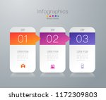 infographics design vector and...   Shutterstock .eps vector #1172309803