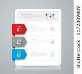 printinfographics design vector ...   Shutterstock .eps vector #1172309809