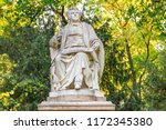 monument of franz schubert in...   Shutterstock . vector #1172345380