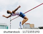 high jump athlete jumper... | Shutterstock . vector #1172355193