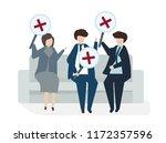illustration of people avatar...