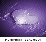 a medical background with a... | Shutterstock . vector #117235804