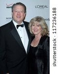 Small photo of Al Gore and Tipper Gore at the 2007 Clive Davis Pre-Grammy Awards Party. Beverly Hilton Hotel, Beverly Hills, CA. 02-10-07