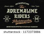 original handmade alphabet.... | Shutterstock .eps vector #1172373886