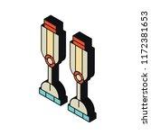 prosthesis isometric left top... | Shutterstock .eps vector #1172381653