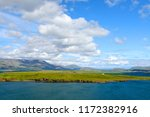 view of island with house in...   Shutterstock . vector #1172382916