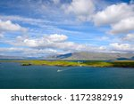 view of island with house in...   Shutterstock . vector #1172382919