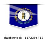 kentucky state flag square... | Shutterstock . vector #1172396416