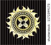 crossed bandage plaster icon... | Shutterstock .eps vector #1172399173