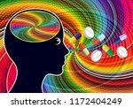 stimulant drugs like... | Shutterstock . vector #1172404249