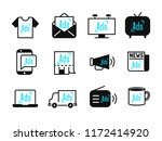 advertisement and marketing... | Shutterstock .eps vector #1172414920