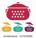boiling pot | Shutterstock .eps vector #117243580