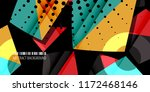 abstract colorful background... | Shutterstock .eps vector #1172468146